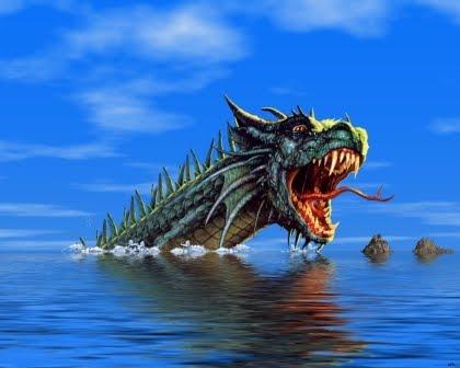 Monstruos Marinos (3) serpiente marina