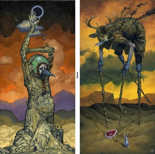 Pinturas Jeff Christensen surrealismo (4)