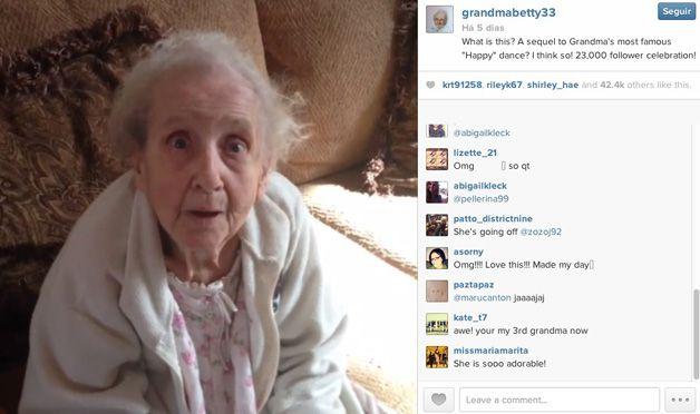 Betty la abuela con cáncer de Instagram (1)