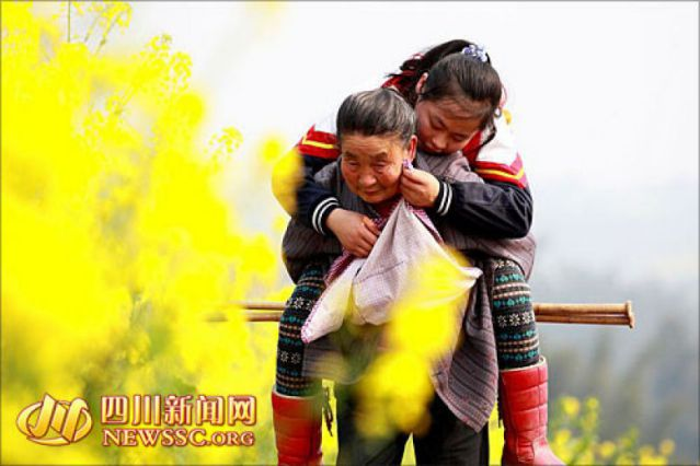 Fang Mei y su abuela (1)
