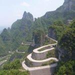 El Camino al Cielo en la Montaña Tianmen