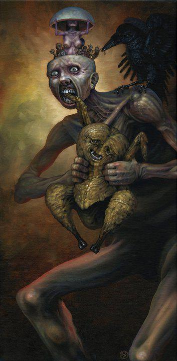 Pinturas Jeff Christensen surrealismo Destrozado (9)