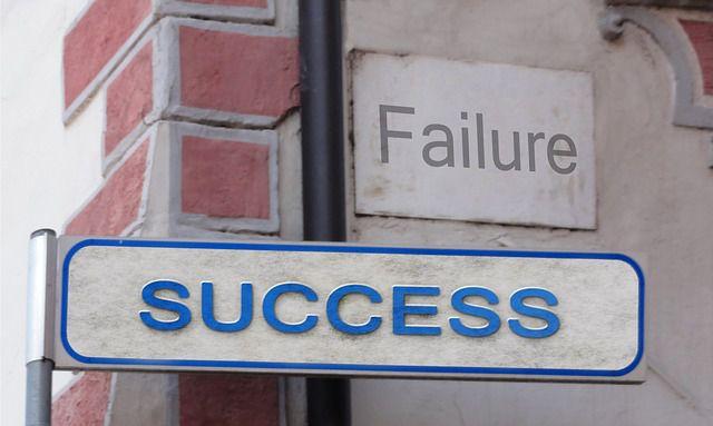 fracaso y éxito