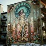 Maestros del graffiti transforman paredes en imponente arte urbana