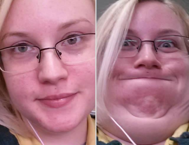 mujeres bonitas haciendo caras feas (21)