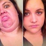 Mujeres bonitas haciendo caras feas