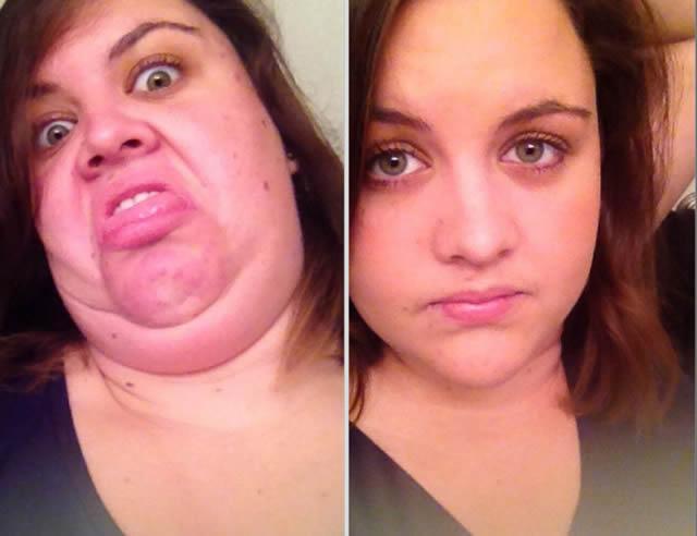 mujeres bonitas haciendo caras feas (19)