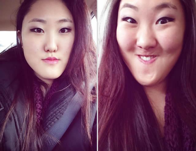 mujeres bonitas haciendo caras feas (4)
