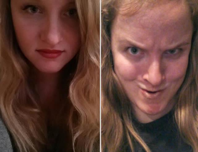 mujeres bonitas haciendo caras feas (2)