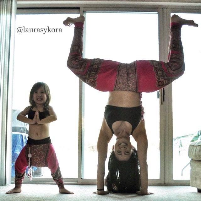Yoga madre e hija Laura Kasperzak (10)