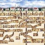 La ciudad subterránea en Derinkuyu
