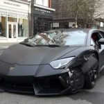 Lamborghini Aventador se accidenta en las calles de Londres