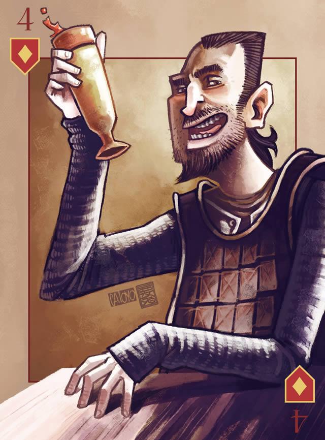 Baraja Inglesa Game of Thrones (34)
