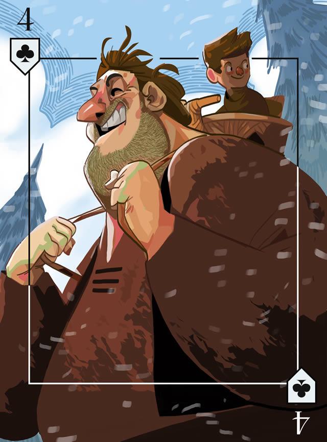 Baraja Inglesa Game of Thrones (26)
