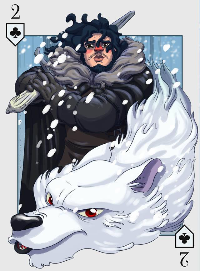 Baraja Inglesa Game of Thrones (33)