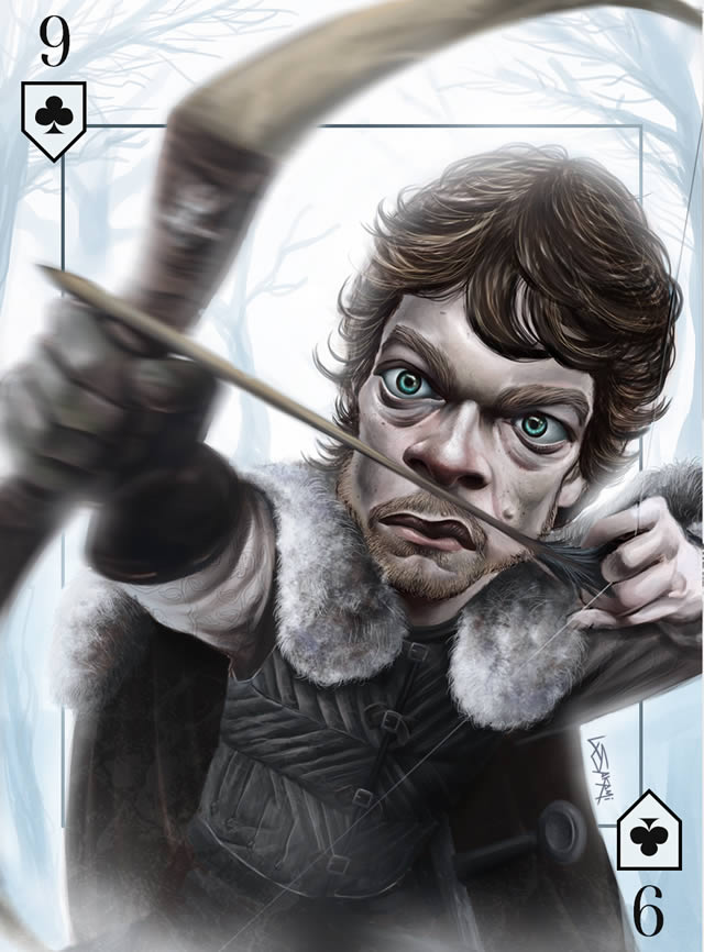 Baraja Inglesa Game of Thrones (25)