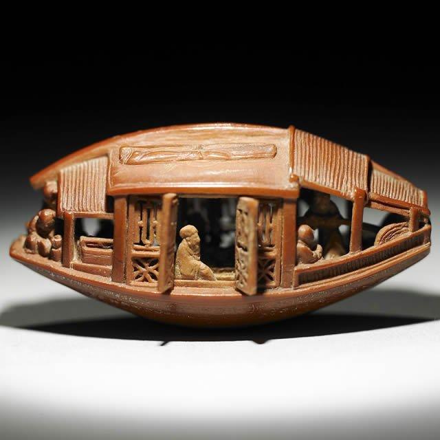 Escultura aceituna Chen Tsu-chang (4)
