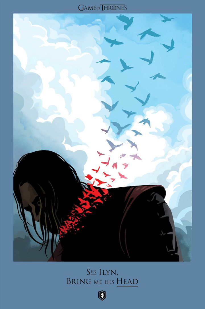 Ilustraciones muertes Game Of Thrones (4)