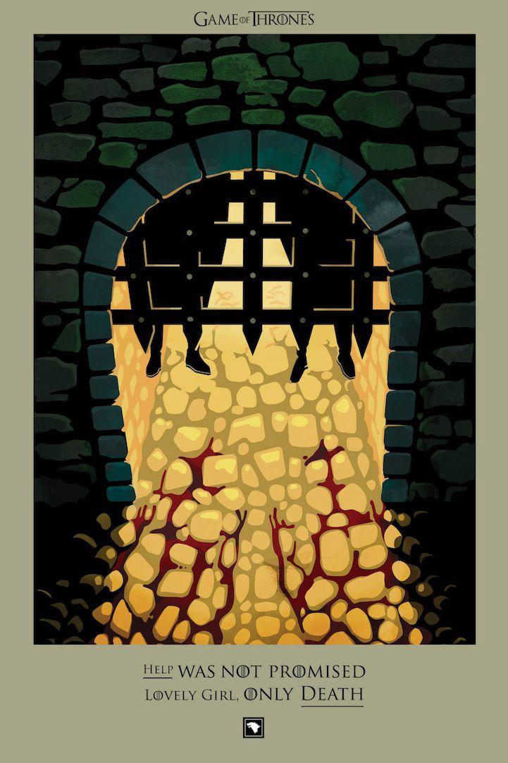 Ilustraciones muertes Game Of Thrones (15)
