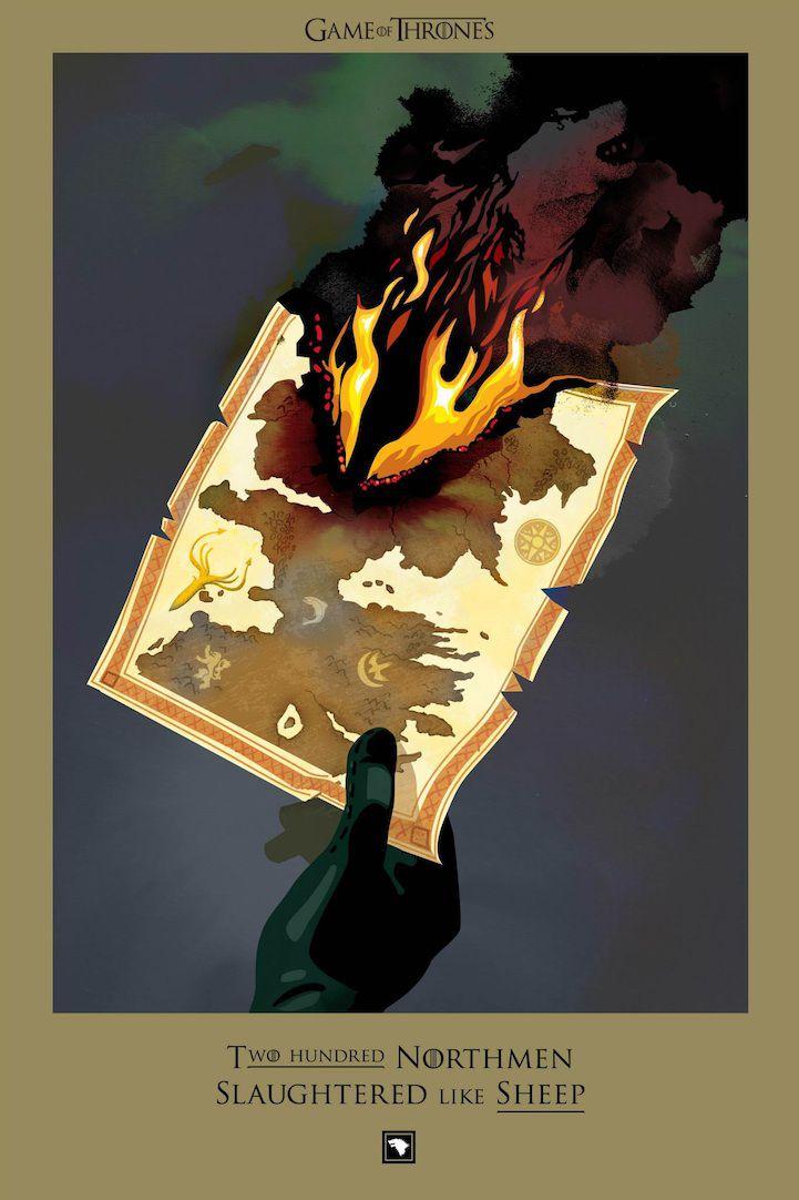 Ilustraciones muertes Game Of Thrones (8)