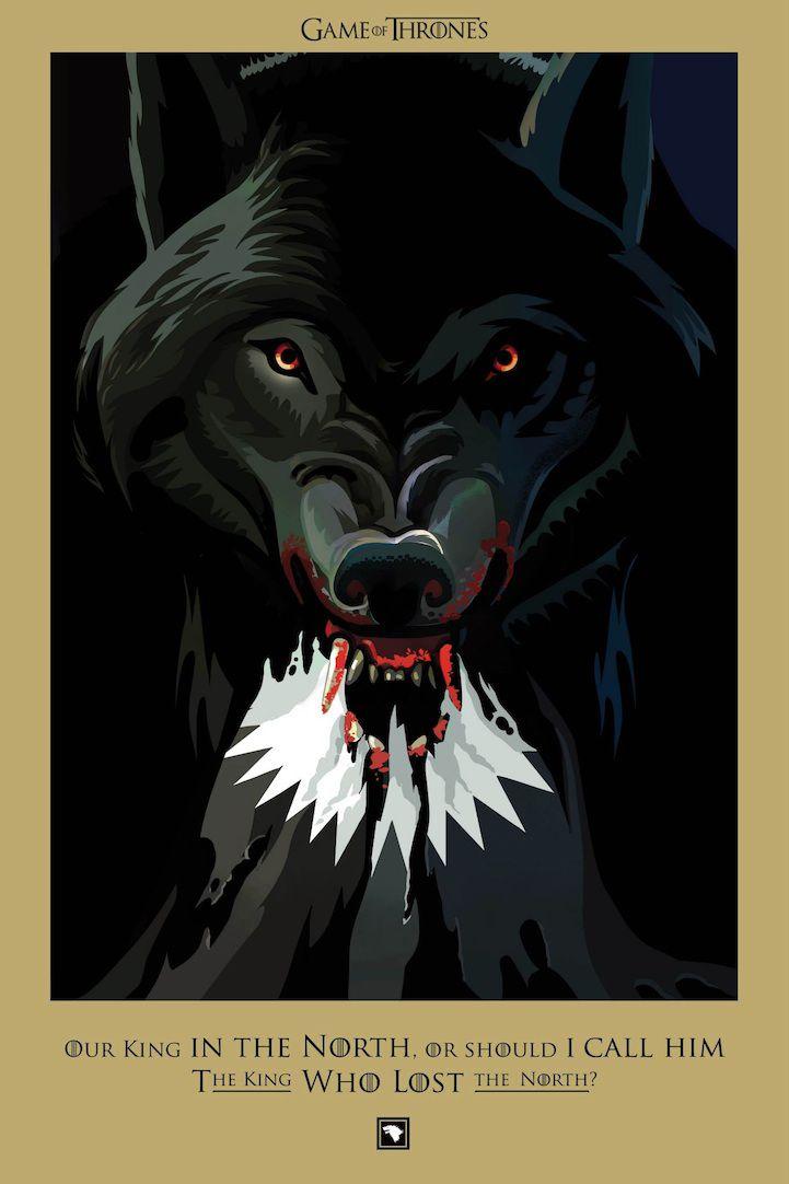 Ilustraciones muertes Game Of Thrones (7)