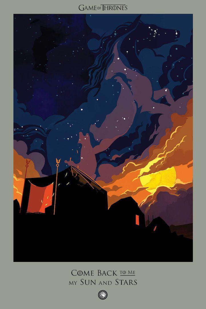 Ilustraciones muertes Game Of Thrones (2)