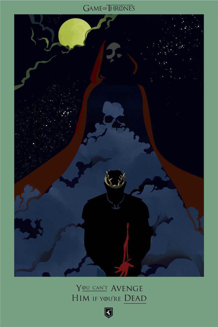 Ilustraciones muertes Game Of Thrones (19)