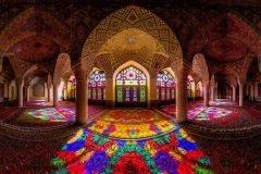 Mezquita Nasir al-Molk, un espectáculo visual