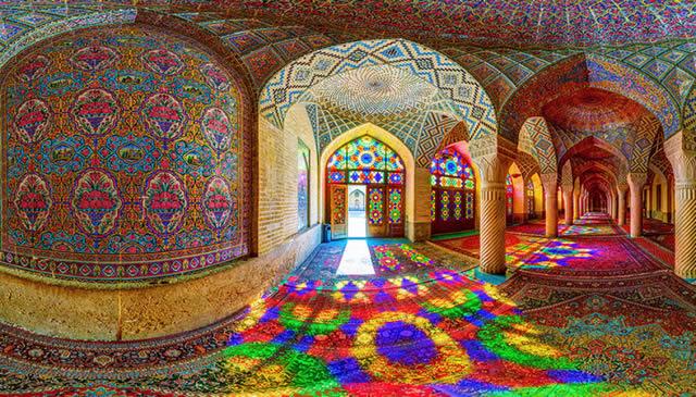 Mezquita Nasir al-Molk 12