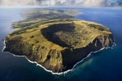 Rano Kau volcan