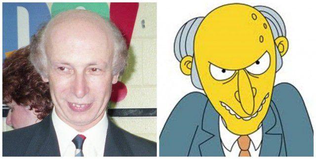 Personajes Simpson en la vida real (3)