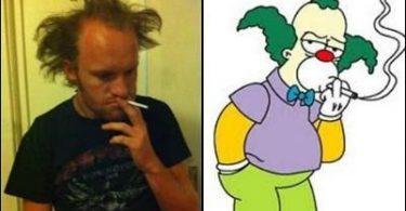 Personajes Simpson en la vida real (8)