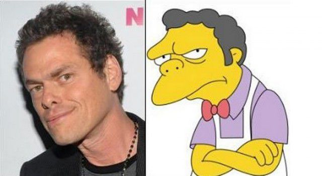 Personajes Simpson en la vida real (6)