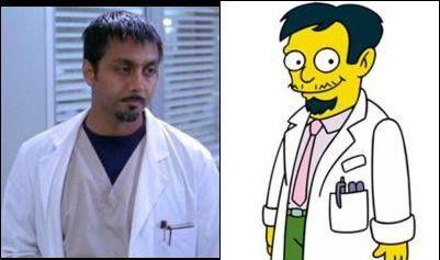 Personajes Simpson en la vida real (10)