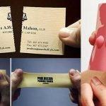 14 ejemplos de tarjetas de presentación creativas