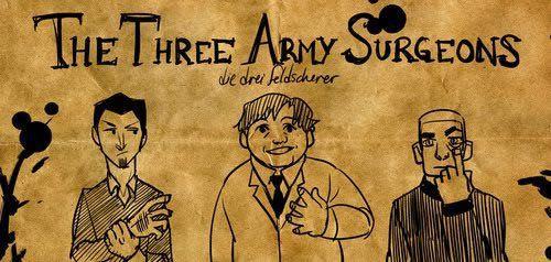 tres cirujanos