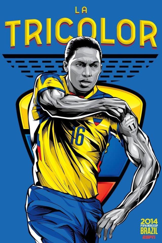 Cristiano Siqueira posters equipos copa del mundo (21)