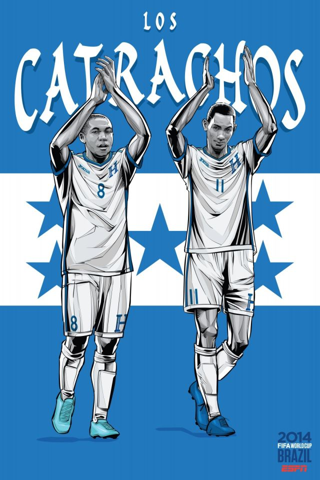 Cristiano Siqueira posters equipos copa del mundo (14)