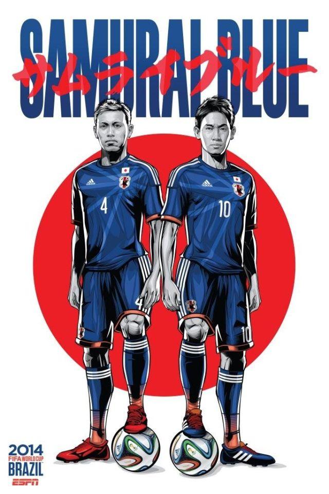 Cristiano Siqueira posters equipos copa del mundo (10)