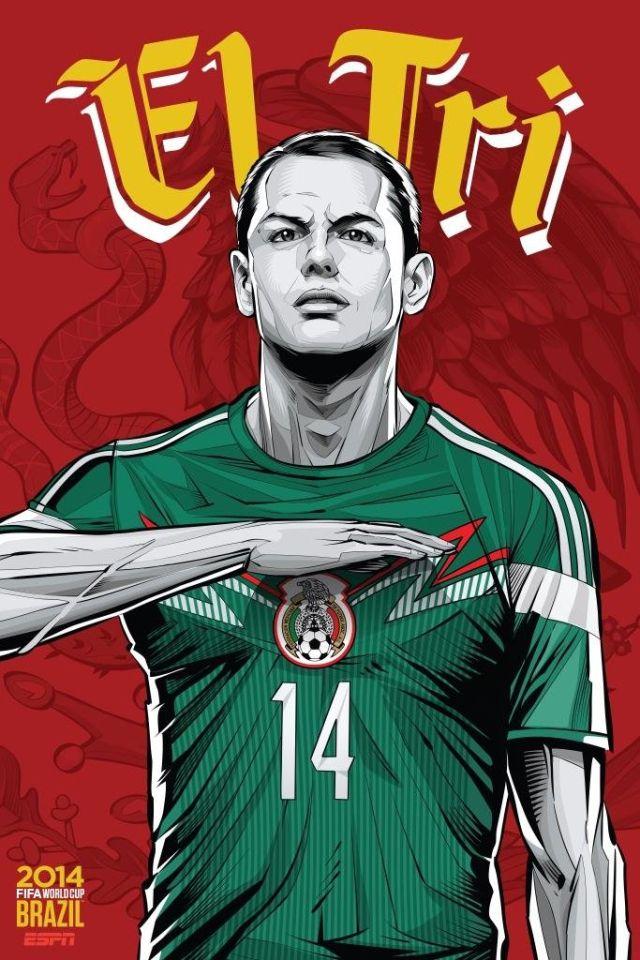 Cristiano Siqueira posters equipos copa del mundo (9)