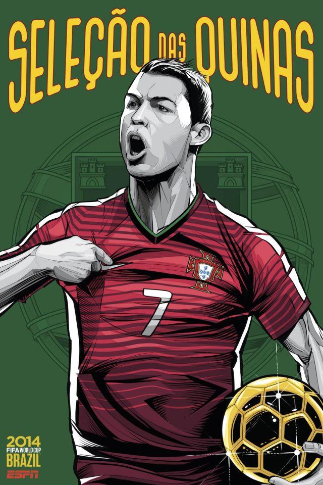 Cristiano Siqueira posters equipos copa del mundo (7)