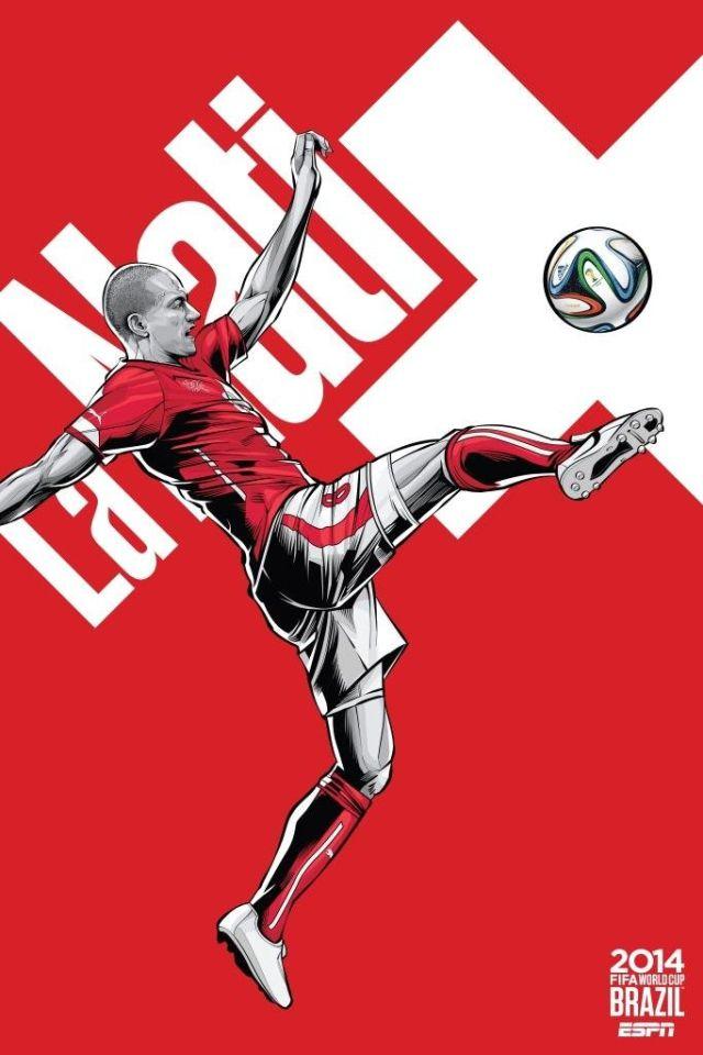Cristiano Siqueira posters equipos copa del mundo (5)