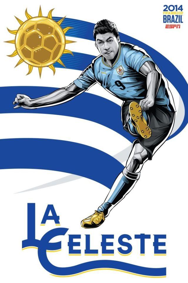 Cristiano Siqueira posters equipos copa del mundo (4)