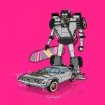 Autos de la cultura pop versión Transformers