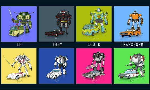 Autos cultura pop Transformers