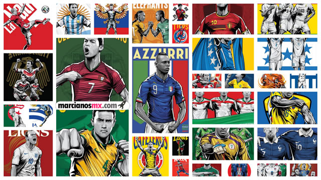 posters copa mundial 2014