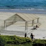 Artista crea fantásticos dibujos 3D en la playa