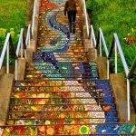 Escaleras del mundo con las más bellas decoraciones urbanas