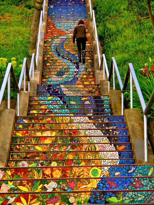 arte urbano escaleras (2)