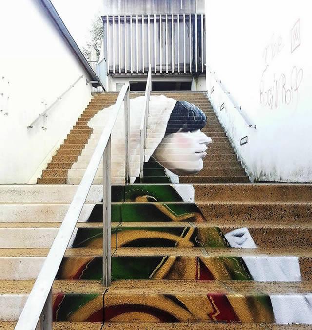 arte urbano escaleras (5)
